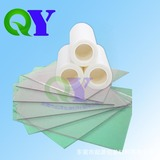 玻璃镜片 高光面材表面专用保护膜 PE静电保护膜QY005